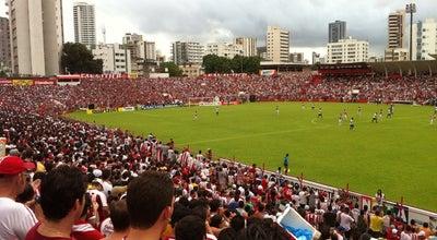 Photo of Soccer Stadium Estádio Eládio de Barros Carvalho at Av. Cons. Rosa E Silva, 1086, Recife 52050-020, Brazil