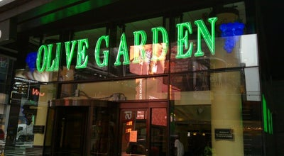 Photo of Italian Restaurant Olive Garden at 2 Times Sq, New York, NY 10036, United States