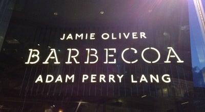 Photo of American Restaurant Barbecoa at 20 New Change Passage, London EC4M 9AG, United Kingdom
