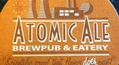 Photo of Brewery Atomic Ale Brewpub & Eatery at 1015 Lee Blvd, Richland, WA 99352, United States