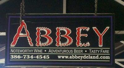Photo of Bar Abbey Bar at 117 N Woodland Blvd, Deland, FL 32720, United States