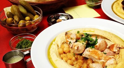 Photo of Middle Eastern Restaurant Zula Hummus Café at Husemannstr. 10, Berlin 10435, Germany