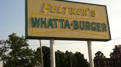 Photo of Burger Joint Feltner's Whatta-Burger at 1410 N Arkansas Ave, Russellville, AR 72801, United States