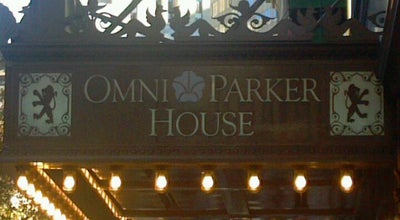 Photo of Resort Omni Parker House at 60 School Street, Boston, MA 02108, United States