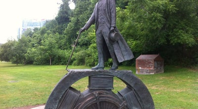 Photo of Outdoor Sculpture Nikola Tesla Statue (Canadian side) at Queen Victoria Park, Niagara Falls, ON, Canada