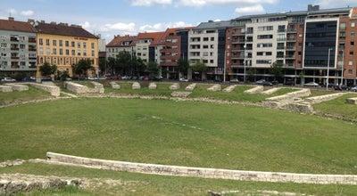 Photo of Historic Site Aquincumi katonai amfiteátrum at Nagyszombat Utca, Budapest 1034, Hungary