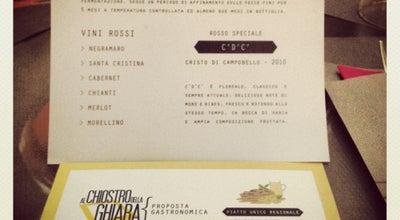 Photo of Italian Restaurant Chiostro della Ghiara at Via Guasco N.6, Reggio Emilia 42121, Italy