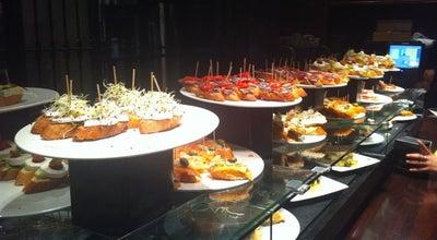Photo of Tapas Restaurant Euskal Etxea Taberna at Placeta De Montcada 1, Barcelona 08003, Spain