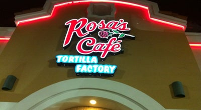 Photo of Mexican Restaurant Rosa's Cafe Tortilla Factory at 4710 State Highway 121, Lewisville, TX 75056, United States