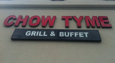 Photo of Chinese Restaurant Chow Tyme Grill & Buffet at 6841 N 9th Ave, Pensacola, FL 32504, United States
