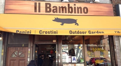 Photo of Italian Restaurant Il Bambino at 34-08 31st Ave, Astoria, NY 11106, United States