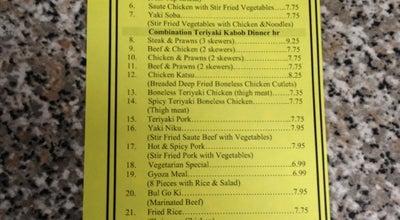 Photo of Japanese Restaurant Teriyaki Plus at 22822 Bothell Everett Hwy, Bothell, WA 98021, United States