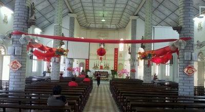 Photo of Church Church Of The Holy Name Of Mary at Permatang Tinggi, Simpang Ampat, Malaysia