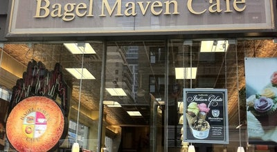Photo of Bagel Shop Bagel Maven Cafe at 362 7th Ave, New York, NY 10001, United States