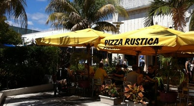 Photo of Pizza Place Pizza Rustica at 667 Lincoln Rd, Miami Beach, FL 33139, United States
