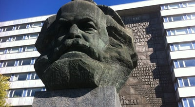 Photo of Monument / Landmark Karl-Marx-Monument at Brückenstr., Chemnitz 09111, Germany