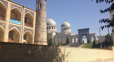 Photo of Mosque Kukaldosh Masjid-Madrasasi | Мечеть-Медресе Кукалдош at Chorsu, Tashkent, Uzbekistan
