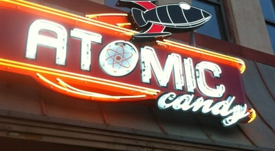 Photo of Candy Store Atomic Candy at 105 W Hickory St, Denton, TX 76201, United States