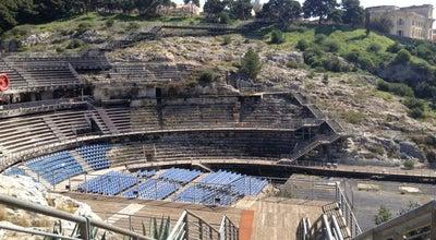 Photo of Historic Site Anfiteatro romano at Cagliari, Italy