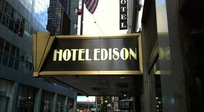 Photo of Hotel Hotel Edison at 228 W 47th St, New York, NY 10036, United States