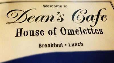 Photo of Breakfast Spot Dean's Cafe at 620 Main St, Pleasanton, CA 94566, United States