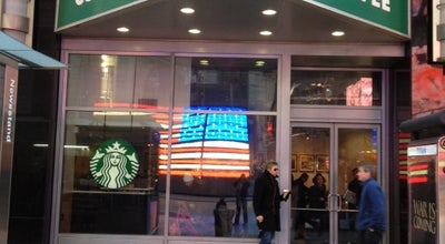 Photo of Coffee Shop Starbucks at 1500 Broadway, New York, NY 10036, United States