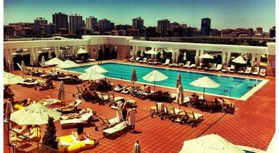Photo of Pool Marriot Otel Acik Havuz at Turkey