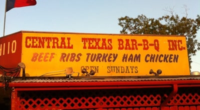 Photo of BBQ Joint Central Texas Bar-B-Q at 4110 Broadway St, Pearland, TX 77581, United States