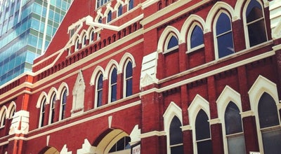 Photo of Music Venue Ryman Auditorium at 116 5th Ave N, Nashville, TN 37219, United States