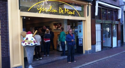 Photo of Ice Cream Shop IJssalon De Mient at Mient 20, Alkmaar 1811NC, Netherlands
