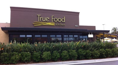 Photo of New American Restaurant True Food Kitchen at 451 Newport Center Dr, Newport Beach, CA 92660, United States