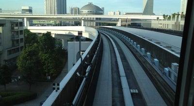 Photo of Light Rail お台場海浜公園駅 (Odaiba-kaihinkōen Sta.) (U06) at 台場2-3, 港区, 東京, 東京都 135-0091, Japan