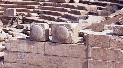 Photo of Historic Site Αρχαίο Θέατρο Λάρισας (Ancient Theatre of Larissa) at Ελευθερίου Βενιζέλου 56-78, Λάρισα 412 21, Greece