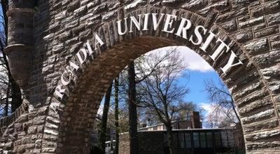 Photo of University Arcadia University at 450 S Easton Rd, Glenside, PA 19038, United States