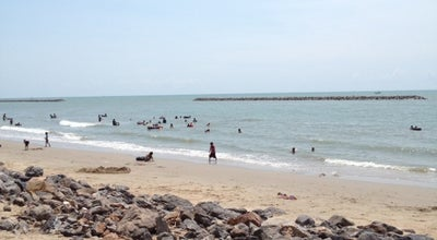 Photo of Beach หาดเจ้าสำราญ (Chao Samran Beach) at Whole Area!, Mueang Phetchaburi 76100, Thailand