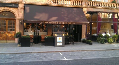 Photo of Deli / Bodega Mount Street Deli at 100 Mount St., Mayfair W1K 2TG, United Kingdom