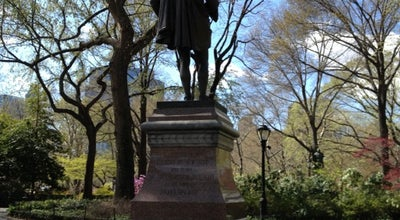 Photo of Outdoor Sculpture William Shakespeare Statue at 65th St. Transverse Rd., New York, NY 10023, United States