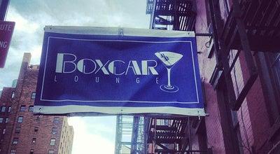 Photo of Bar Boxcar Lounge at 168 Avenue B, New York, NY 10009, United States