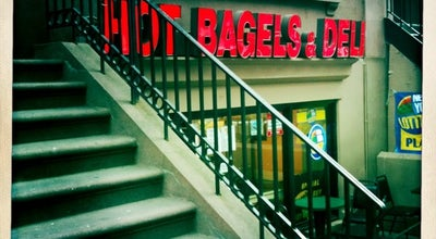 Photo of Cafe Hot Bagels Deli at 108 Montague St, Brooklyn, NY 11201, United States