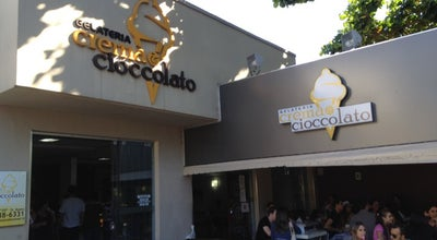 Photo of Ice Cream Shop Gelateria Crema & Cioccolato at Av. T-11, 297, Goiânia 74223-070, Brazil