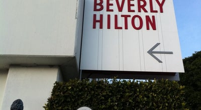 Photo of Hotel The Beverly Hilton at 9876 Wilshire Boulevard, Beverly Hills, CA 90210, United States