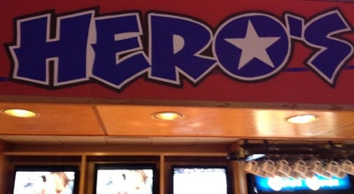 Photo of American Restaurant Hero's Sports Grill & Entertainment Center at 41 Washington St, Bangor, ME 04401, United States