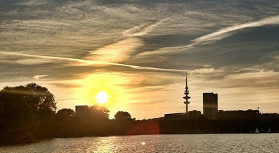 Photo of Lake Außenalster at Hamburg, Germany