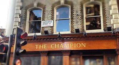 Photo of Pub The Champion at 12-13 Wells St, Fitzrovia W1T 3PA, United Kingdom