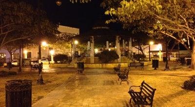 Photo of Park Parque San Román at San Román, Campeche, Mexico