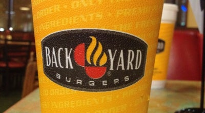 Photo of Burger Joint Back Yard Burgers at 2807 Outer Dr, Marion, IL 62959, United States
