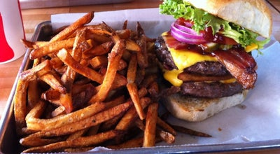 Photo of Burger Joint Fat Cow Burgers and Salads at 4350 Highland Rd, Baton Rouge, LA 70808, United States