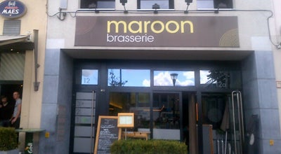 Photo of French Restaurant Brasserie Maroon at Koning Albertplein 12a, Mechelen 2800, Belgium