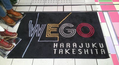 Photo of Boutique WEGO 原宿竹下通り店 at 神宮前1-8-2, 渋谷区, Japan