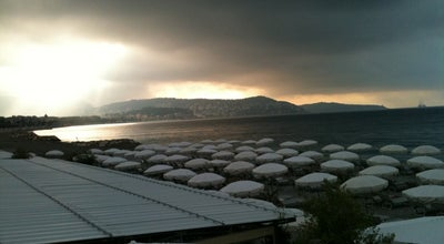 Photo of Beach Plage de Fabron at Promenade Des Anglais, Nice 06000, France